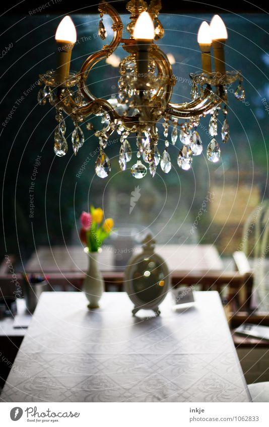 Herzlich Willkommen in der Goldschmiede alt schön Innenarchitektur Stil Lampe Lifestyle glänzend Wohnung Raum Häusliches Leben Dekoration & Verzierung elegant