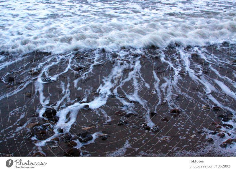 Strand Umwelt Natur Landschaft Sand Ostsee Meer authentisch außergewöhnlich bedrohlich schön einzigartig Schwimmen & Baden Brandung Wasser Außenaufnahme
