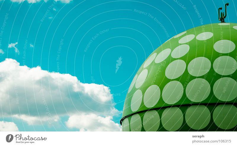 Gastank Umwelt Architektur Energiewirtschaft Technik & Technologie Industrie Bauwerk Kugel Konstruktion Lager ökologisch Umweltschutz industriell Benzin Tank
