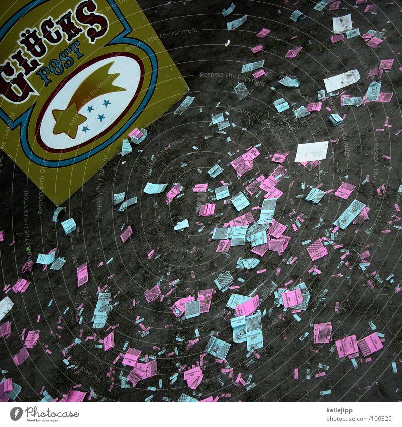 pechmarie Spielen Glück Lampe Arme Stern (Symbol) Jahrmarkt Post reich Desaster Schicksal Insolvenz Sternschnuppe losgelöst Glücksspiel Astrologie Lotterie