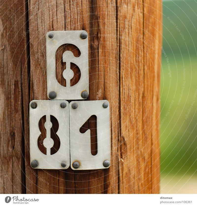 Pole 681 Industrie Kommunizieren Nordpol Holzmehl