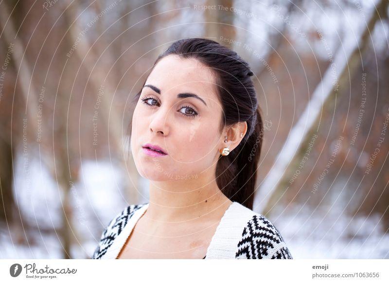 bright Mensch Jugendliche schön Junge Frau 18-30 Jahre Erwachsene Gesicht feminin hell