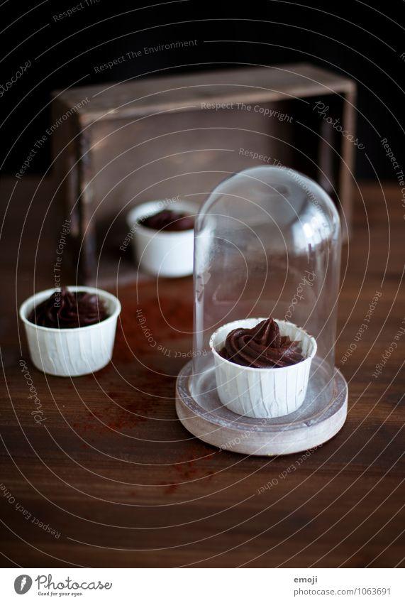 schoko-schock Dessert Süßwaren Schokolade Mousse Mousse au chocolat Ernährung lecker süß braun Kalorienreich Farbfoto Innenaufnahme Menschenleer