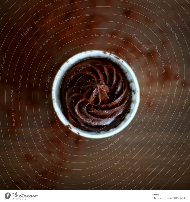 Mousse braun Ernährung süß lecker Süßwaren Schokolade Dessert ungesund Völlerei Genusssucht Kalorienreich Mousse au chocolat