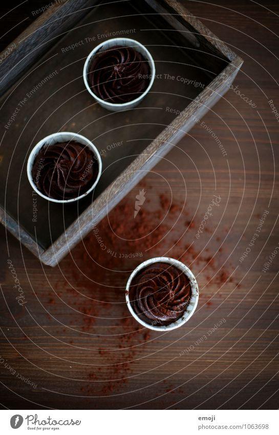 dark chocolate braun Ernährung süß lecker Süßwaren Dessert Schokolade Picknick Büffet Brunch Fingerfood Mousse Mousse au chocolat