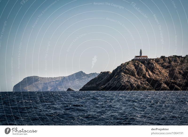 Mallorca von seiner schönsten Seite 41 - Leuchtturm Cala Ratjada Natur Ferien & Urlaub & Reisen Pflanze Sommer Meer Landschaft Tier Ferne Umwelt