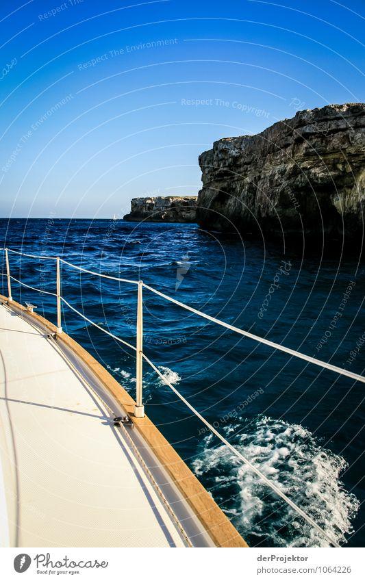 Mallorca von seiner schönen Seite 67 – Nah am Ufer Natur Ferien & Urlaub & Reisen Pflanze Sommer Sonne Landschaft Freude Berge u. Gebirge Umwelt Gefühle Küste