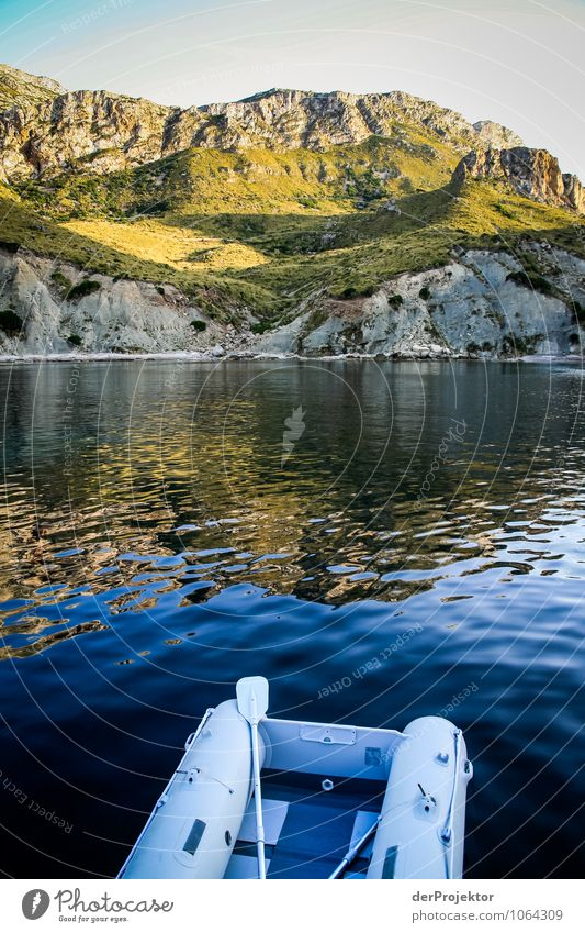 Mallorca von seiner schönsten Seite 57 - mit Rettungsboot Natur Ferien & Urlaub & Reisen Pflanze Sommer Meer Landschaft Tier Strand Umwelt Berge u. Gebirge