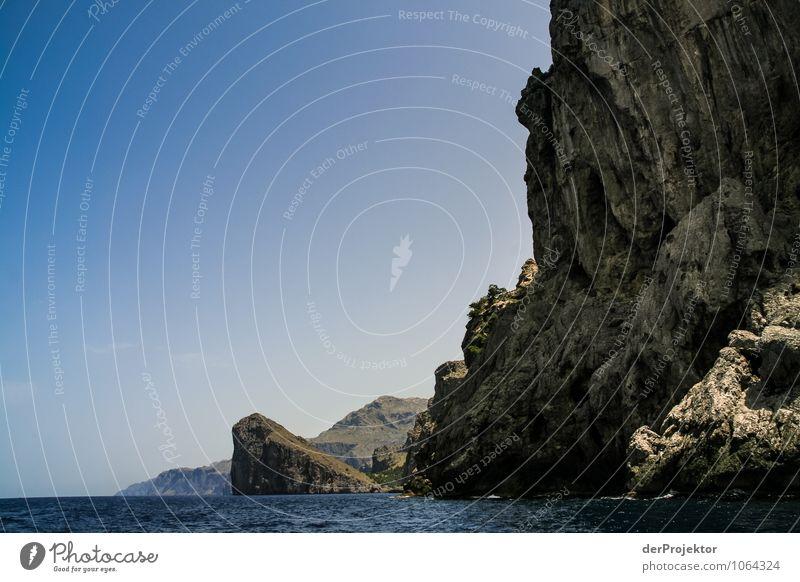 Mallorca von seiner schönen Seite 51 – Massive Felsen Natur Ferien & Urlaub & Reisen Pflanze Sommer Meer Landschaft Tier Ferne Berge u. Gebirge Umwelt Gefühle