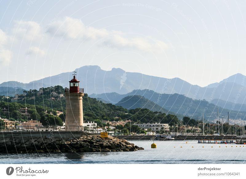 Mallorca von seiner schönsten Seite 39 - wieder ein Leuchtturm Ferien & Urlaub & Reisen Sommer Meer Landschaft Ferne Umwelt Berge u. Gebirge Gefühle Küste Freiheit leuchten Wellen Tourismus Insel Ausflug Schönes Wetter