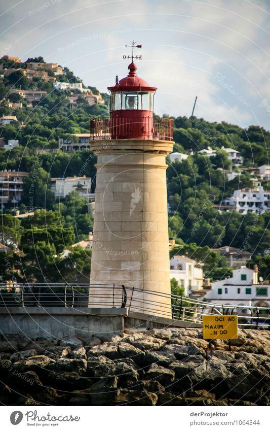 Mallorca von seiner schönen Seite 45 – Port d'Andratx Ferien & Urlaub & Reisen Tourismus Ausflug Ferne Freiheit Sightseeing Umwelt Landschaft Wellen Küste Bucht
