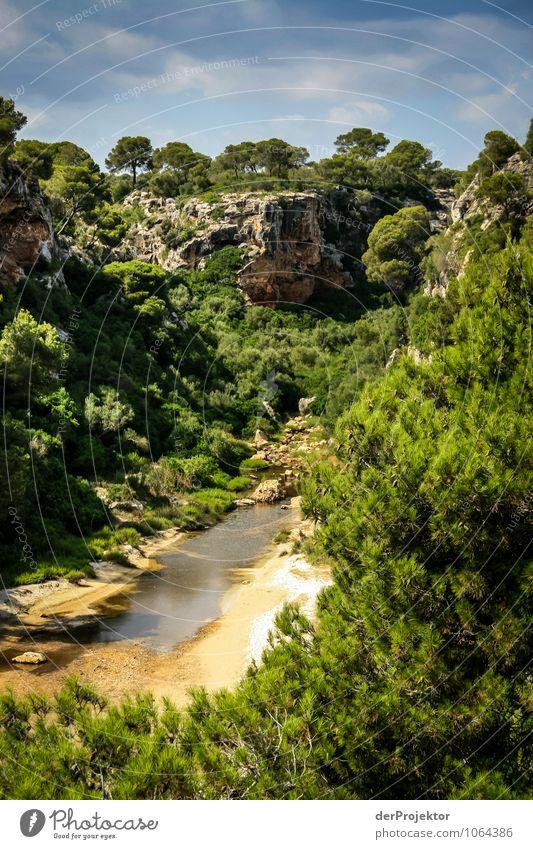 Mallorca von seiner schönsten Seite 42 - Einsame Schlucht Ferien & Urlaub & Reisen Tourismus Ausflug Abenteuer Expedition Sommerurlaub Umwelt Natur Landschaft