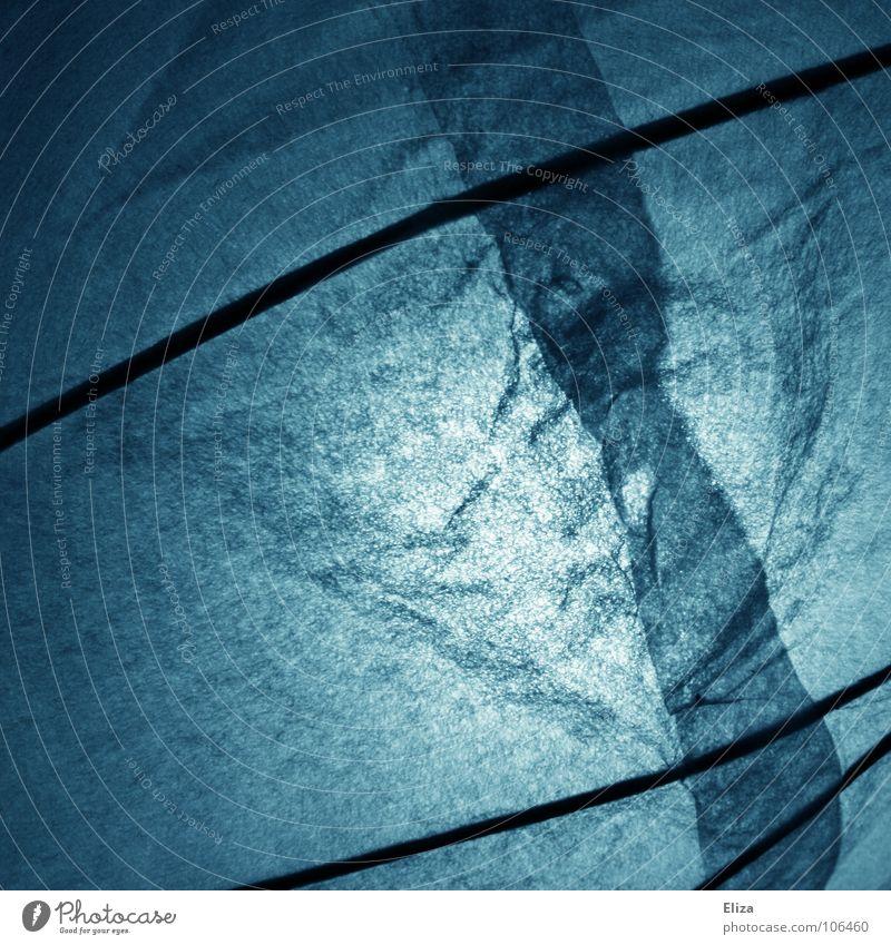 Nordlicht blau Winter Lampe dunkel kalt Linie Beleuchtung schlafen Papier rund Dekoration & Verzierung Streifen Regenschirm Stoff Quadrat Möbel