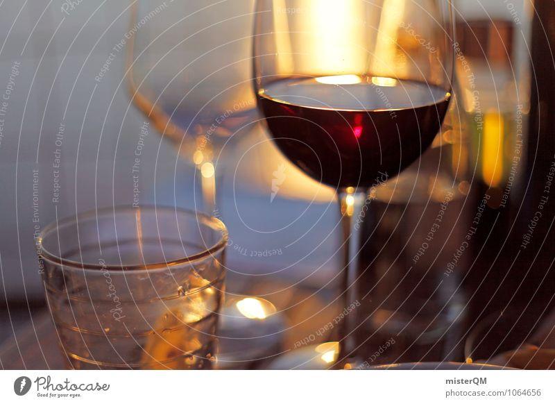 Spanish Food VI Lebensmittel Abendessen Getränk trinken Erfrischungsgetränk Alkohol Spirituosen Wein ästhetisch Romantik Rotwein Rotweinglas Farbfoto
