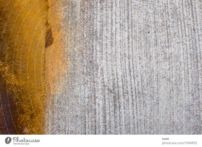 Schwacher Trost Baustelle Handwerk Metall Rost alt authentisch dreckig einfach fest kalt trashig trist orange Verfall Vergangenheit Vergänglichkeit Blech