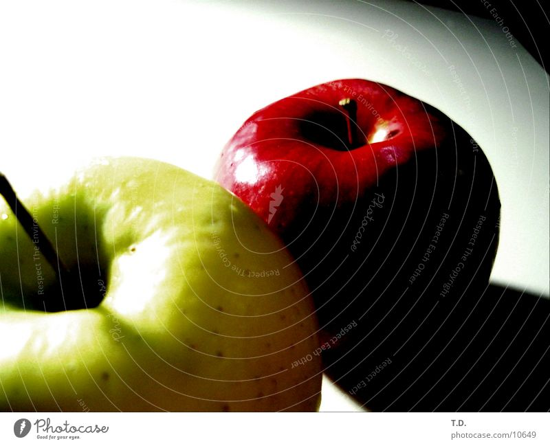 Gruen-Rot grün rot Gesundheit Frucht Apfel lecker
