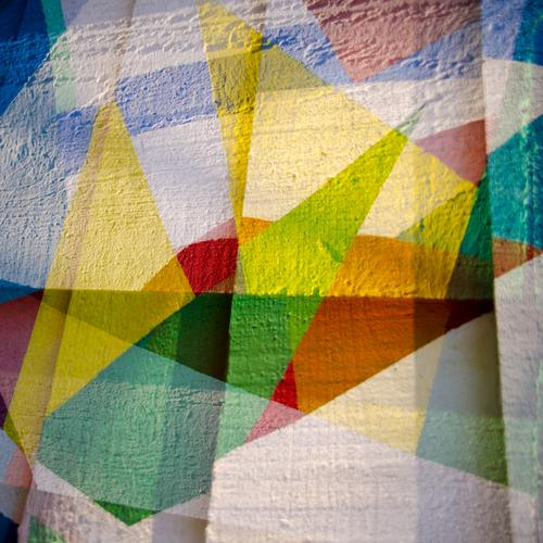 Skala schön Farbstoff Stil Design Dekoration & Verzierung ästhetisch Kreativität einzigartig viele fest trendy Holzbrett Vorfreude eckig Geometrie