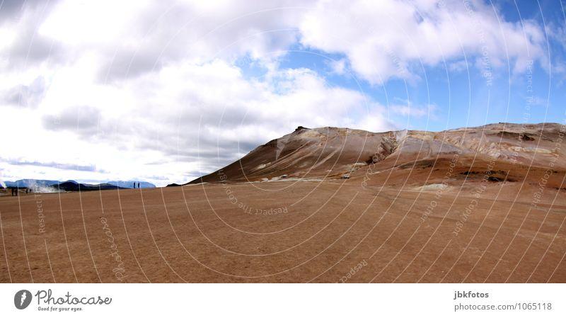 ISLAND / Námafjall [7] Umwelt Natur Landschaft Pflanze Tier Urelemente Erde Sand Feuer Luft Wasser Himmel Klima Wärme Dürre Hügel Berge u. Gebirge heiß