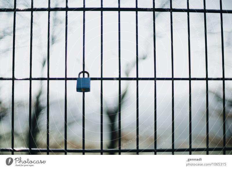 Erster Liebe Metall geschlossen Zeichen Zaun fest hängen Schloss Beweissicherung