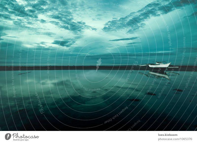 crossing clouds Himmel Natur Ferien & Urlaub & Reisen blau schön Wasser Sommer Erholung Meer Einsamkeit ruhig Wolken Strand Freiheit Horizont träumen