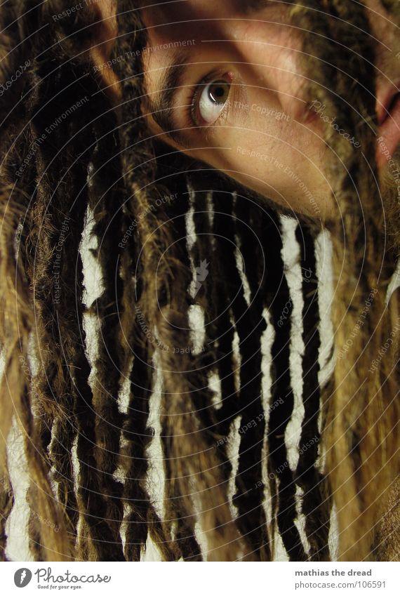 Mathias The Dread XIV Mensch Mann Gesicht Auge dunkel Gefühle Haare & Frisuren Traurigkeit Mund hell Kraft Haut maskulin Trauer bedrohlich Wunsch