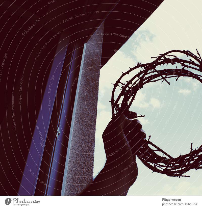 Karfreitag Ostern Sünde Opfergaben Jesus Christus Meister Vater Entschuldigung Freiheit Krone Dornenkrone