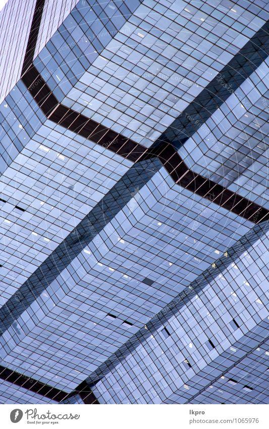 Himmel blau grün Wolken Haus schwarz Wand Gefühle Mauer grau Linie braun Kunst Metall Fassade Angst