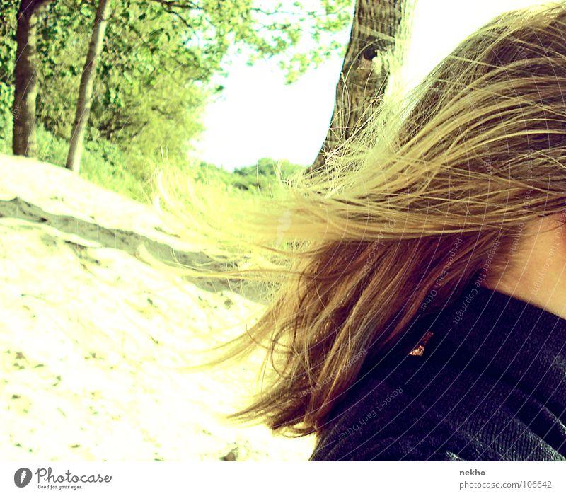 another day in paradise Wald Strand Brandenburg schön Zärtlichkeiten lang blond Sonne zart ruhig genießen Fröhlichkeit Ferien & Urlaub & Reisen Außenaufnahme
