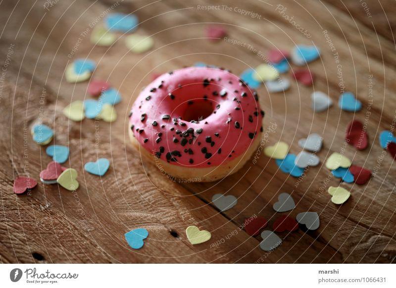 DO NUT EAT Gefühle Liebe Essen Stimmung Lebensmittel Dekoration & Verzierung Ernährung Herz Geschenk lecker Süßwaren Appetit & Hunger Diät Schokolade Dessert