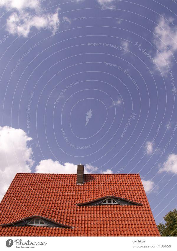 Schlafzimmerblick Architektur Gebäude Häusliches Leben Dach Backstein Handwerk Renovieren Sanieren Altbau Einfamilienhaus Kredit Dachfenster Kapitalwirtschaft
