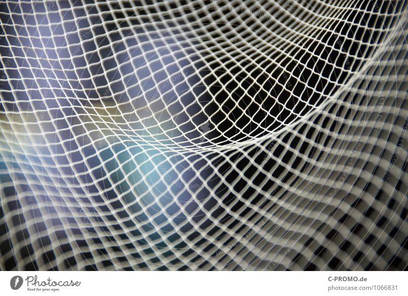 Ins Netz gegangen 5 Netzwerk maritim Design Ferne Surrealismus Symmetrie Zeit Fischer Fischereiwirtschaft fangen ästhetisch abstrakt Fischernetz Linearität