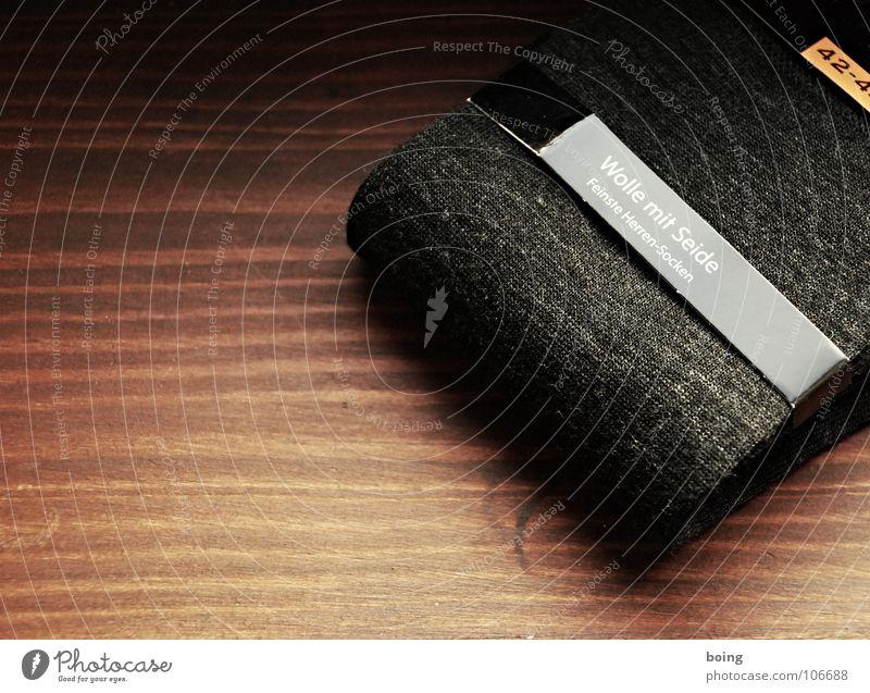 Socken grau neu Bekleidung Strümpfe verkaufen Barfuß Düsseldorf Wolle Rest stricken matt Schneider Seide Handwerker Handarbeit überlagert