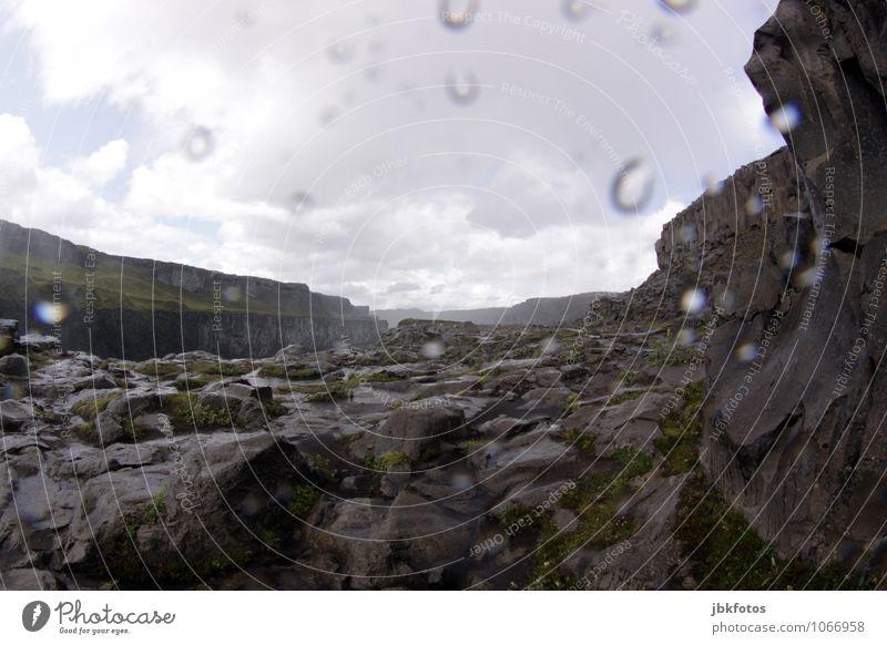 Games of Thrones / Dettifoss / ISLAND Umwelt Natur Landschaft Urelemente Wasser Klima schlechtes Wetter Regen Hagel Felsen Berge u. Gebirge außergewöhnlich kalt