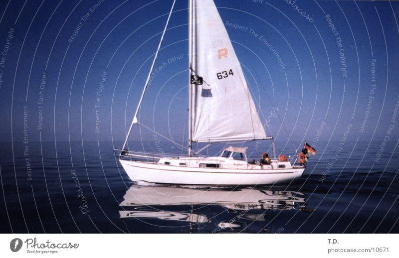 Pirates Of The.. Ostsee Meer Segeln Wasserfahrzeug ruhig Reflexion & Spiegelung Schifffahrt Dänemark