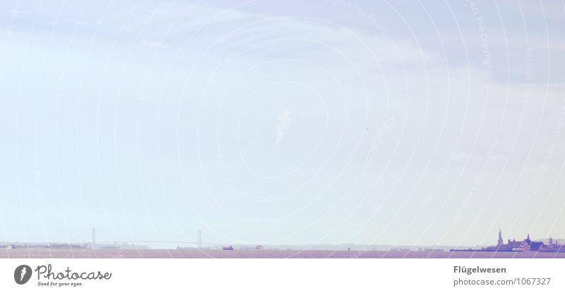 NYC auf Distanz Ferien & Urlaub & Reisen Sightseeing Städtereise Nebel Skyline überbevölkert Hochhaus Gebäude Architektur Sehenswürdigkeit Zufriedenheit