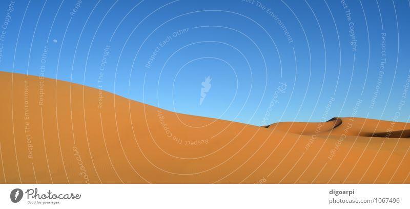 Himmel Natur Ferien & Urlaub & Reisen blau Sommer Sonne Landschaft gelb Wärme Sand Horizont Tourismus Abenteuer Hügel Örtlichkeit heiß
