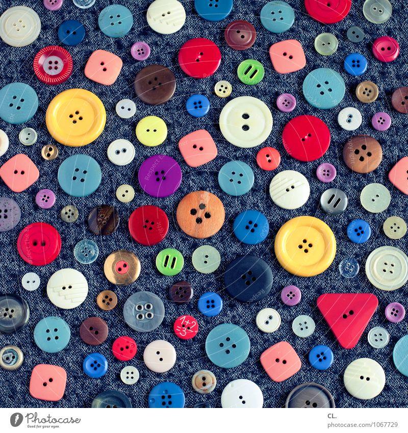 1+2=3 Design Freizeit & Hobby Handarbeit Mode Bekleidung Stoff Kitsch Krimskrams Sammlung Knöpfe ästhetisch außergewöhnlich Fröhlichkeit einzigartig rund viele