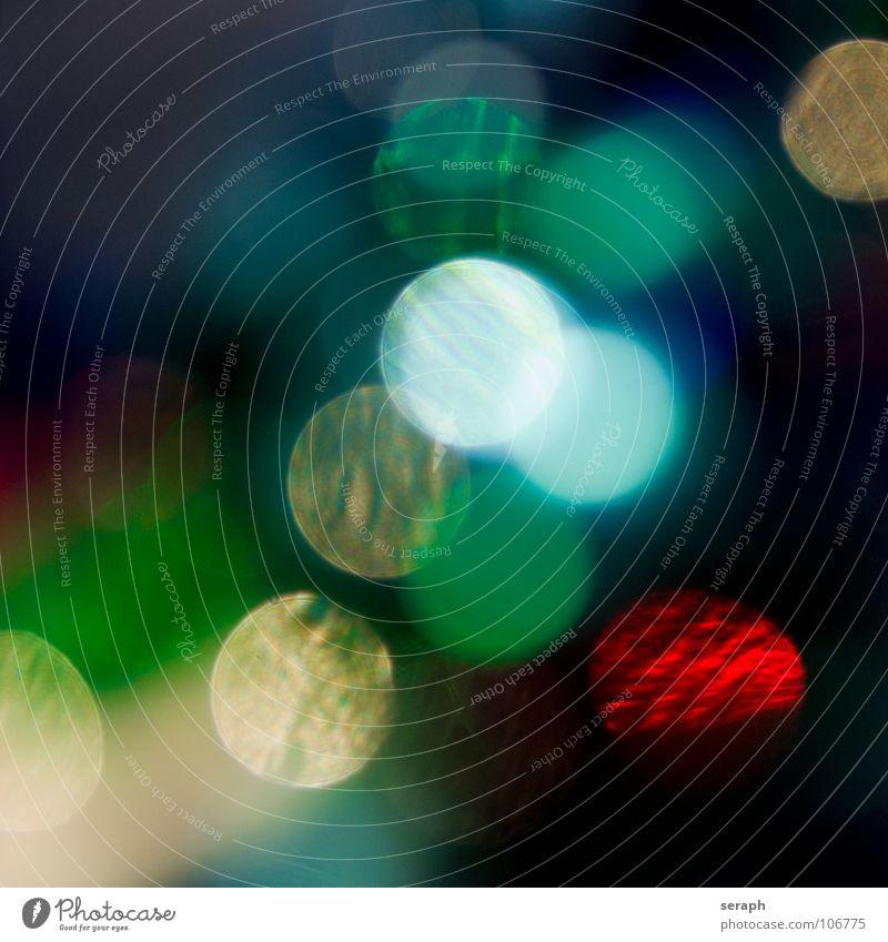 Bunte Spots Kunst glänzend leuchten rund weich Farbe Kreis Fleck gefleckt erleuchten Beleuchtung Punkt Lichtpunkt farbflächen gepunktet Aquarell kringel