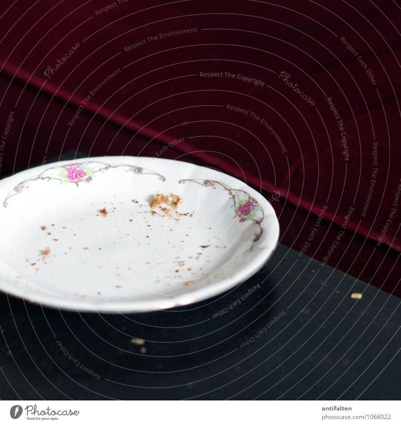 Hawaii-Toast Lebensmittel Brot Brötchen Ernährung Essen Frühstück Mittagessen Abendessen Krümel Geschirr Teller Lifestyle Stil Design Häusliches Leben Wohnung