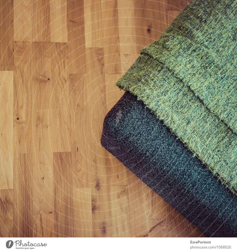 auch gestern Wohlgefühl Erholung ruhig Freizeit & Hobby Häusliches Leben Wohnung Innenarchitektur Dekoration & Verzierung Sofa Raum Wohnzimmer Linie braun grün