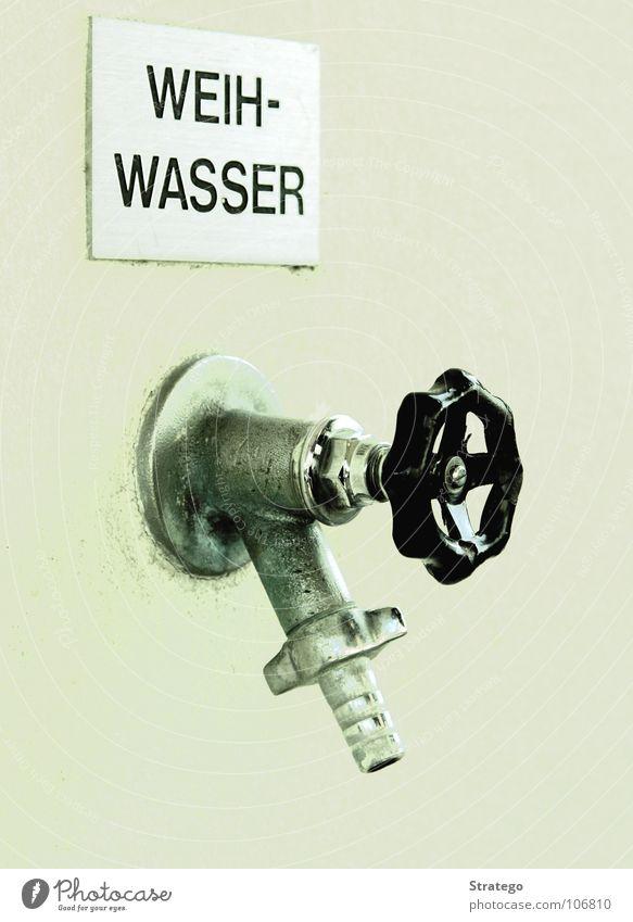 die Quelle kalt Wand Religion & Glaube nass Schilder & Markierungen Rücken Schweiz Reinigen Flüssigkeit Hinweisschild heilig Gottesdienst spritzen Leitung