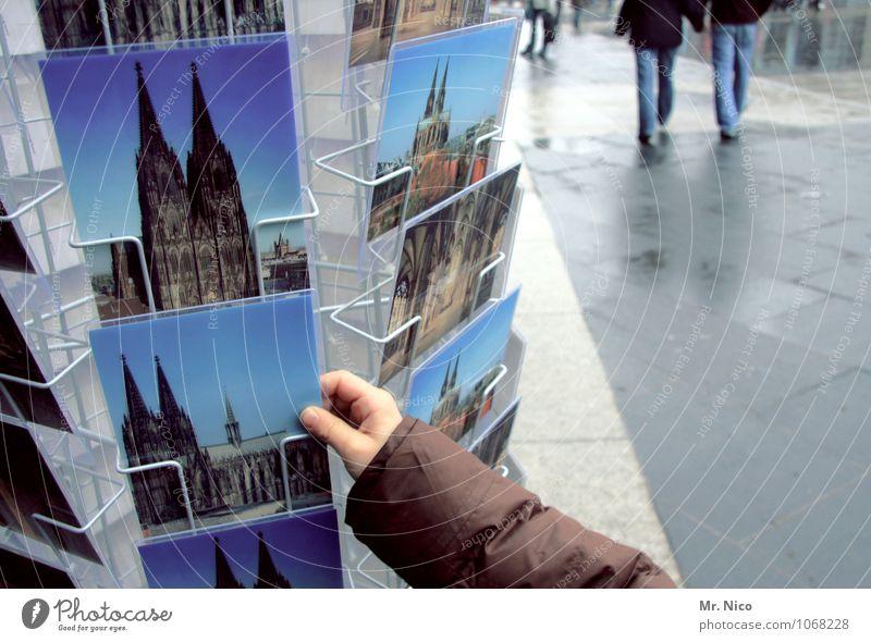 karte für pencake kaufen Ferien & Urlaub & Reisen Stadt blau Hand Lifestyle Tourismus Arme Fotografie Finger Postkarte Wahrzeichen Sehenswürdigkeit Sightseeing