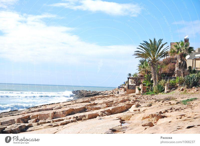 Anchor Point I Ferien & Urlaub & Reisen Tourismus Ausflug Freiheit Sommer Sommerurlaub Sonne Traumhaus Garten Landschaft Wasser Baum Palme Felsen Wellen Küste
