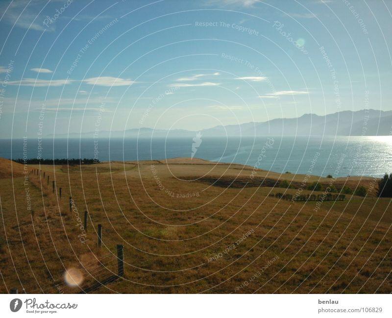 New Zealand Landscape Meer Berge u. Gebirge Landschaft Neuseeland