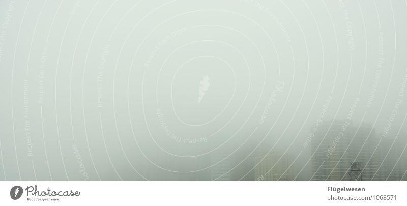 New York im Nebel Natur Umwelt Regen Wetter Hochhaus Wind USA Klima Trauer Amerika Sturm Klimawandel Liebeskummer schlechtes Wetter Manhattan