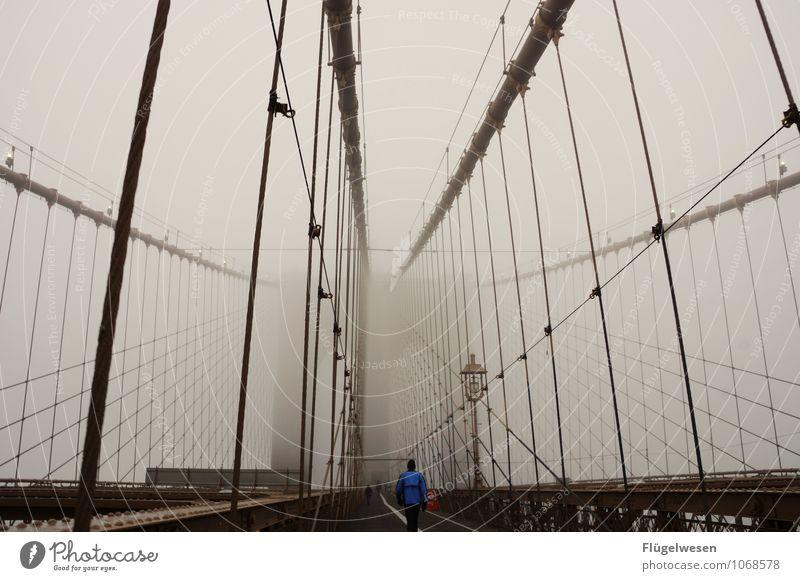 Broglin Bridsch III Ferien & Urlaub & Reisen Ferne Freiheit Tourismus Nebel Wind laufen Ausflug Brücke Abenteuer Laufsport Skyline Unwetter Sturm