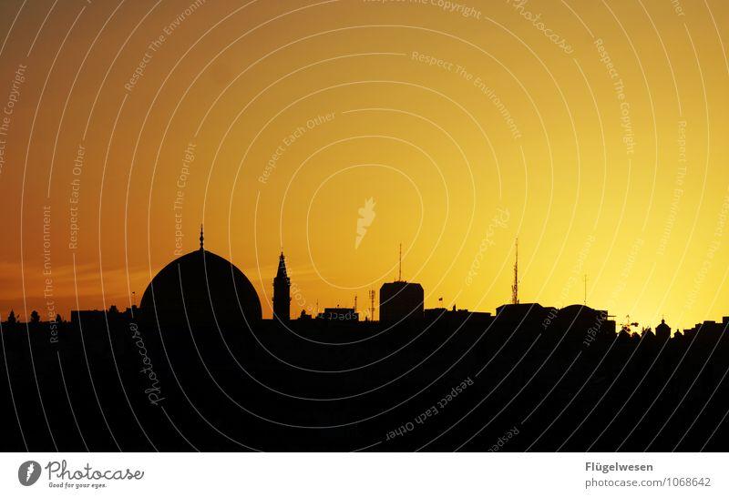 Jerusalem Night [7] Ferien & Urlaub & Reisen Tourismus Ausflug Abenteuer Ferne Freiheit Sightseeing Städtereise Religion & Glaube Moschee Israel Tempelberg