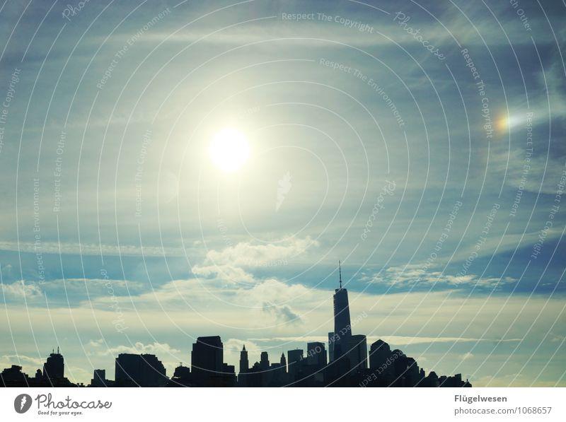 Oh New York! Ferien & Urlaub & Reisen Stadt Architektur Tourismus Hochhaus Ausflug Abenteuer Skyline Wahrzeichen Sehenswürdigkeit Amerika Sightseeing