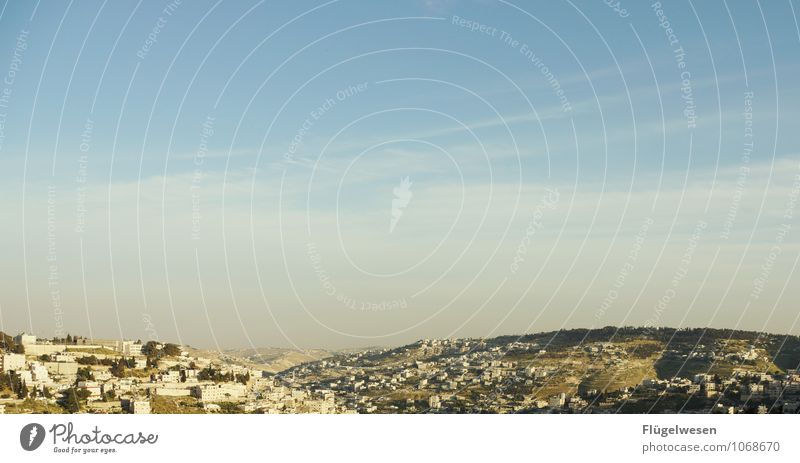 Holy Land Himmel Natur Ferien & Urlaub & Reisen Landschaft Ferne Umwelt Felsen Tourismus Ausflug Klima Abenteuer Hügel heilig Israel Judentum Jerusalem
