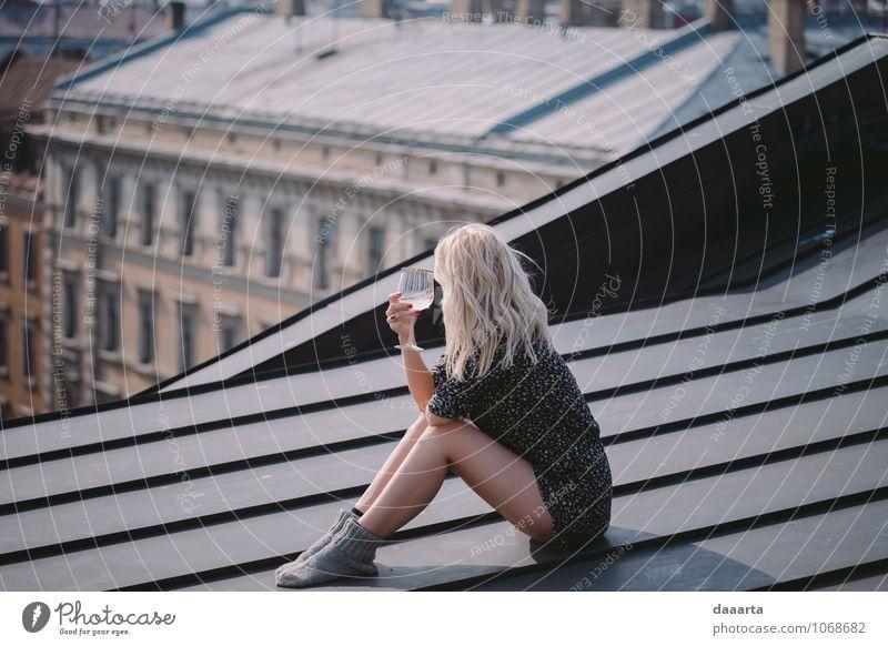 schön Erotik Freude Liebe feminin Stil Feste & Feiern Stimmung Lifestyle träumen Freizeit & Hobby elegant Fröhlichkeit Getränk Lebensfreude einfach